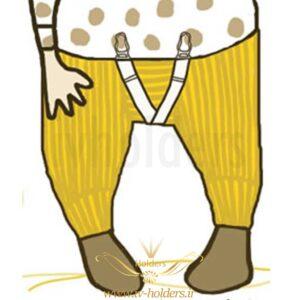 هولدر لباس پیراهن نوزاد بچه گانه
