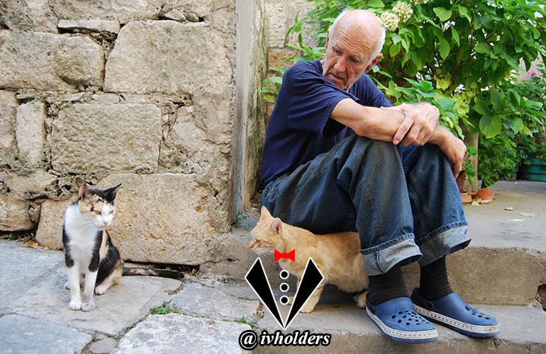 یک جنتلمن با حیوانات چه رابطه ای دارد ؟ (1)