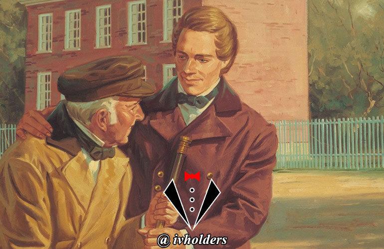 یک جنتلمن در مقابل خطاکار چه واکنشی دارد ؟